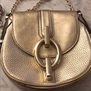 4189e8ea95ed Diane Von Furstenberg Bags - Diane von Furstenberg Sutra Mini Gold handbag